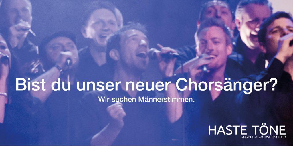 Die Haste Töne Band - Haste Töne sucht singende Männer - Chorsänger